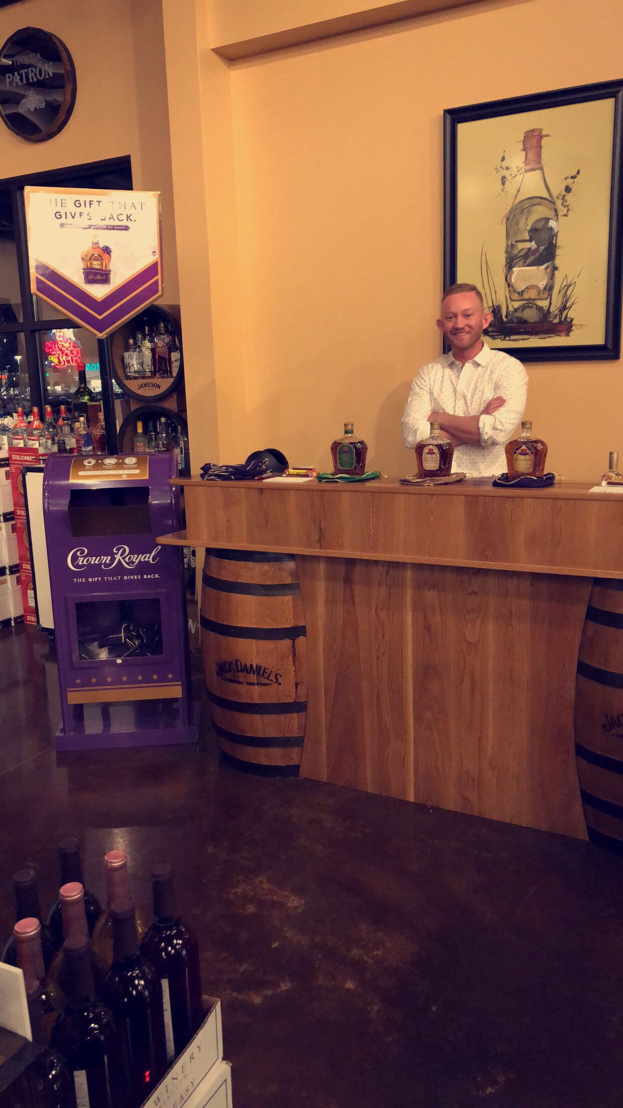 @mr.massengillpromotions's snapchat picture for crownroyal