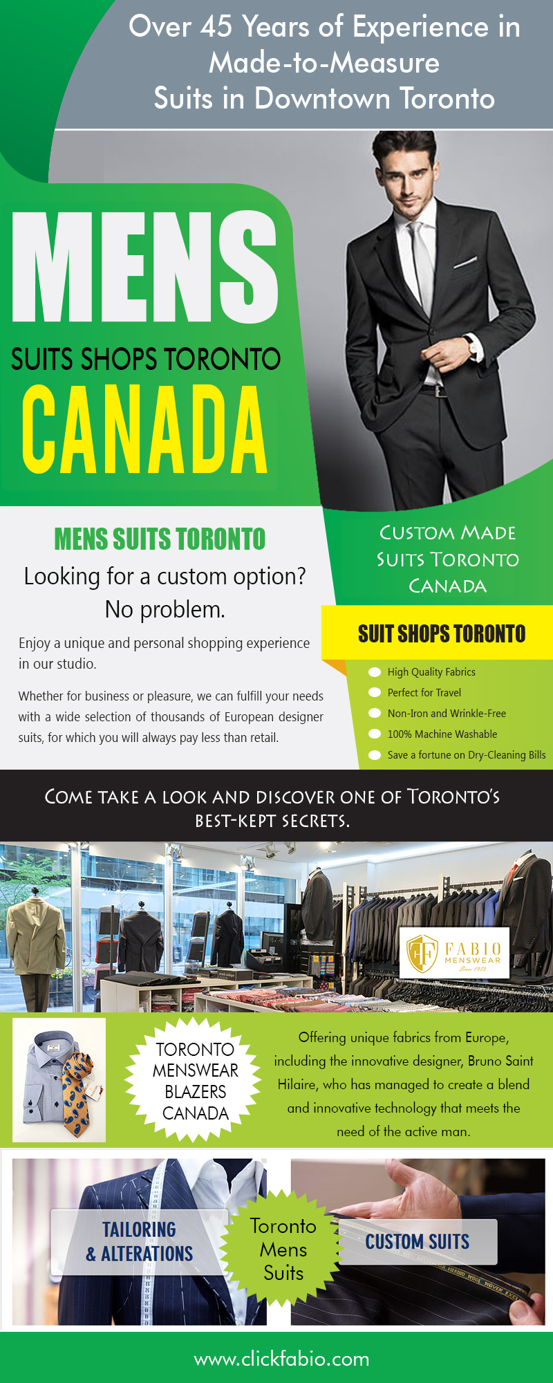 @torontomenssuits's snapchat picture for torontomenssuits