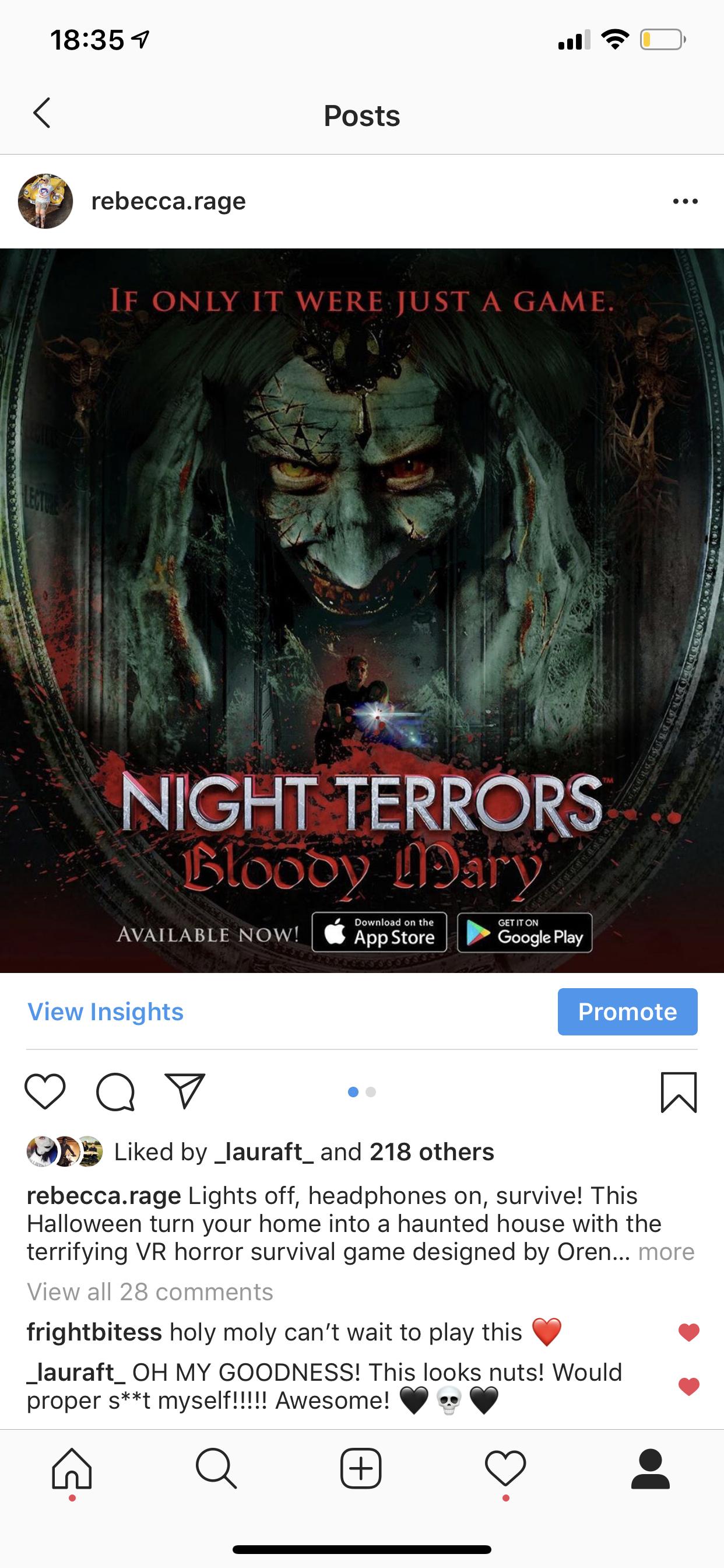 @rebecca.rage's snapchat picture for nightterrorsapp