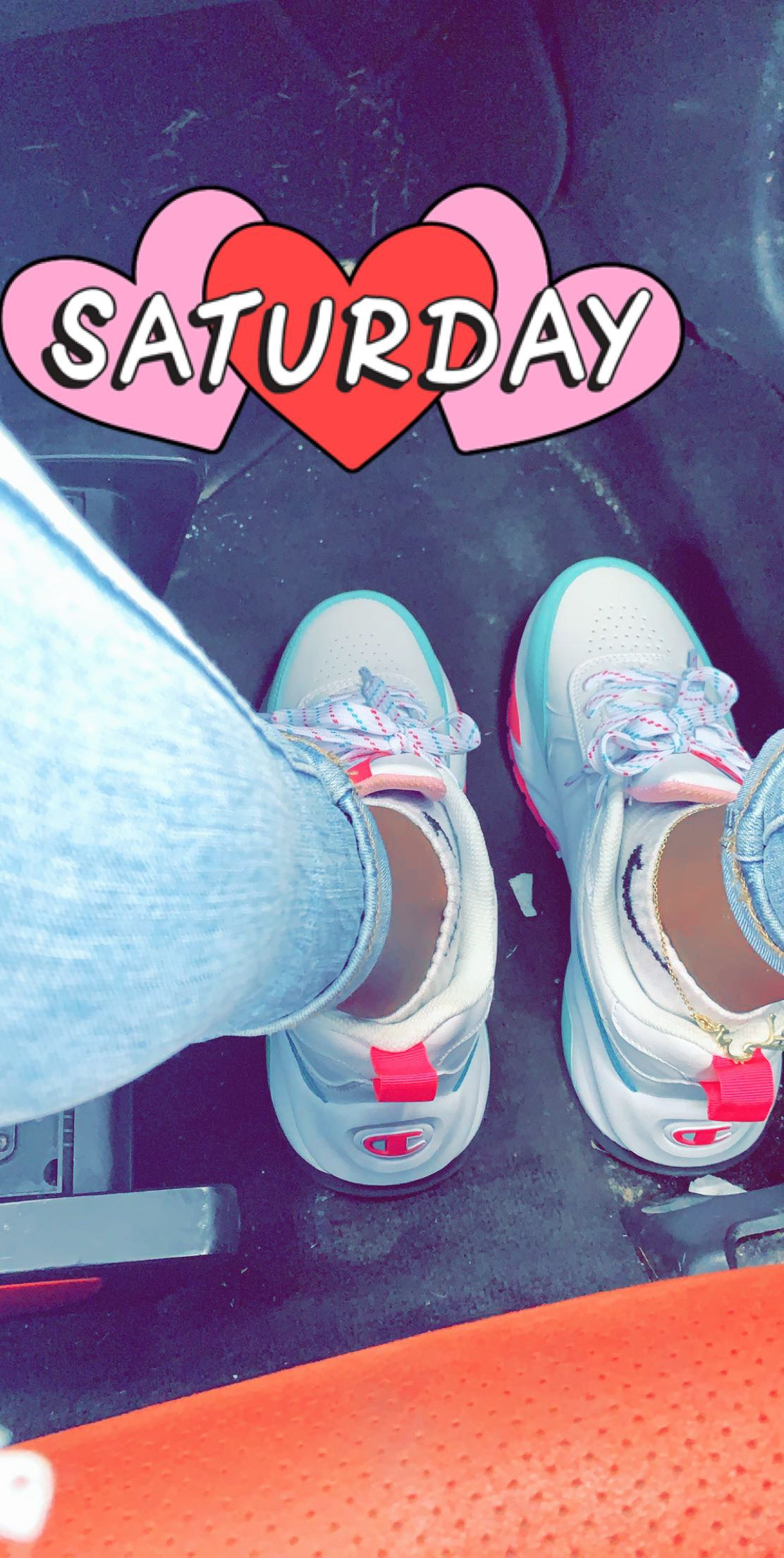 @adore.milah's snapchat picture for champion